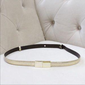 Tory Burch gold belt Sz medium